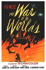 The War of the World movie poster